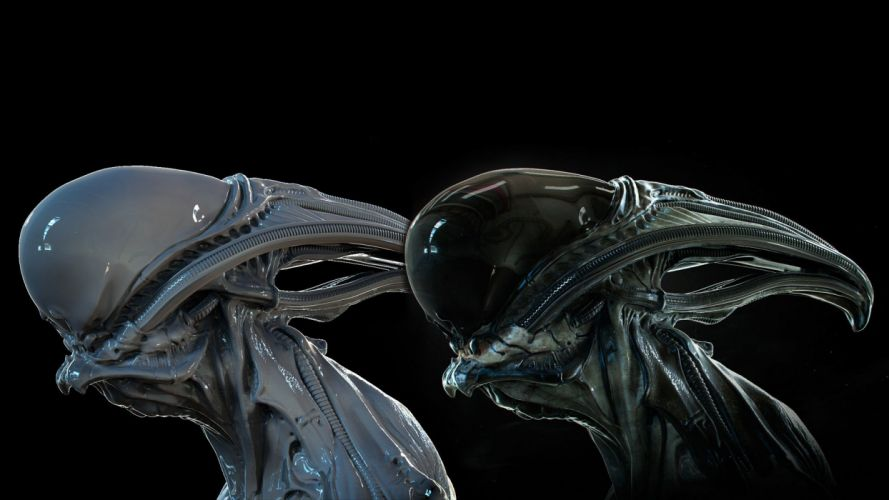 alien creature wallpaper