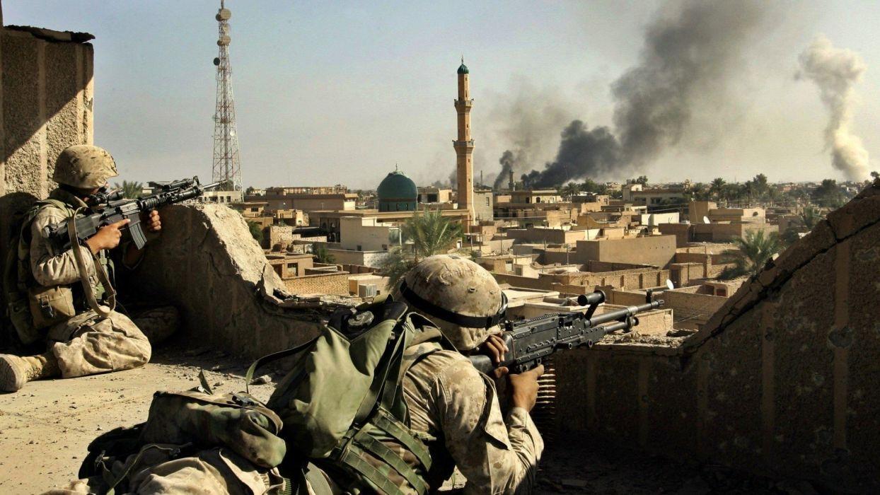Iraq soldier wallpaper