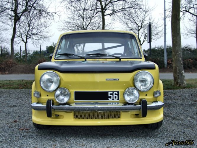cars classic french Simca 1000 rally wallpaper