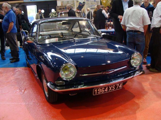 cars classic french Simca 1000 coupe wallpaper