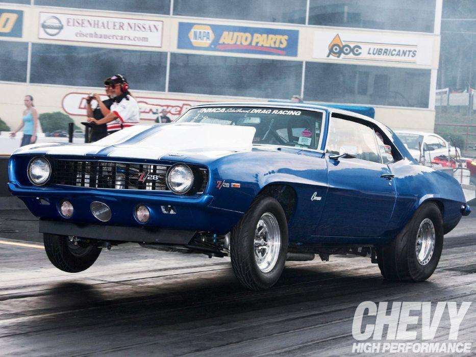DRAG RACING hot rod rods race muscle chevrolet camaro ds wallpaper