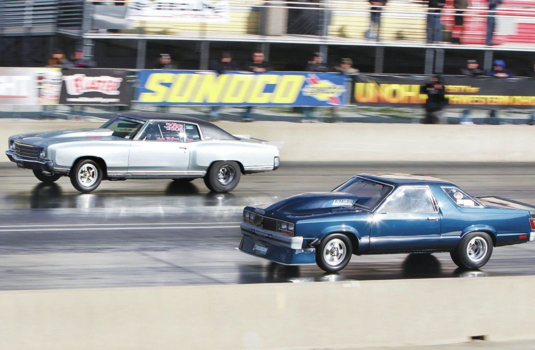 DRAG RACING hot rod rods race muscle chevrolet monte carlo ford fairmont d wallpaper
