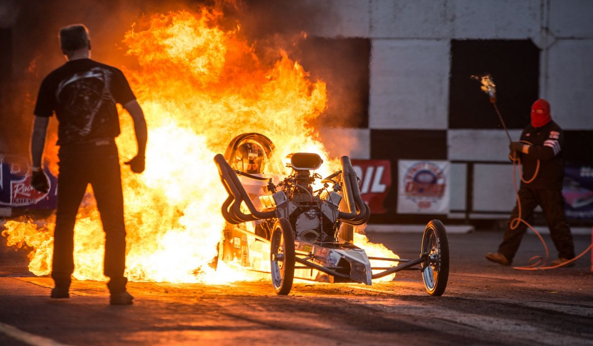 DRAG RACING hot rod rods race muscle dragster engine fire explosion d wallpaper