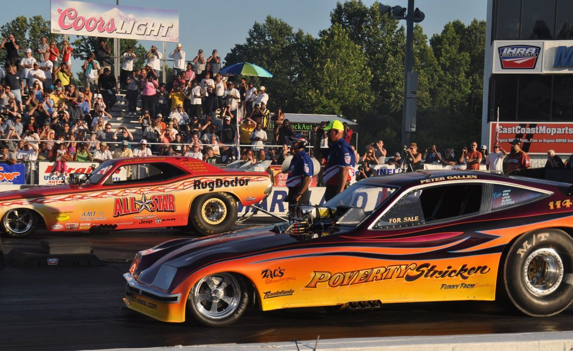 DRAG RACING hot rod rods race muscle funnycar chevrolet vega d wallpaper