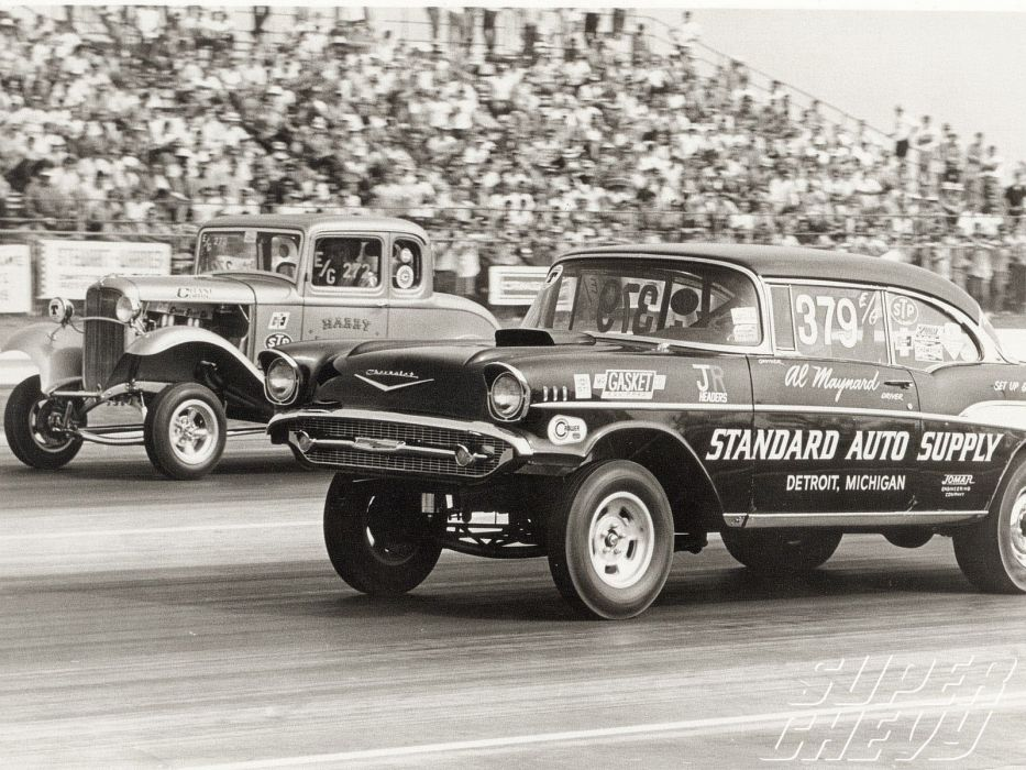 DRAG RACING hot rod rods race muscle gasser chevrolet d wallpaper