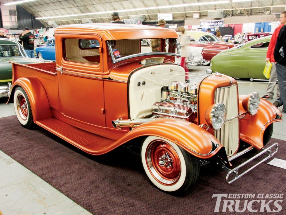 hot rod rods custom muscle pickup retro vintage d wallpaper