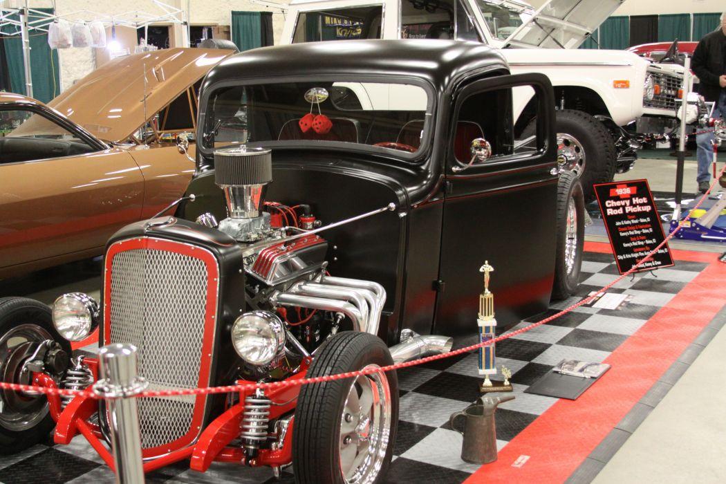 hot rod rods custom muscle retro vintage chevrolet engine d wallpaper