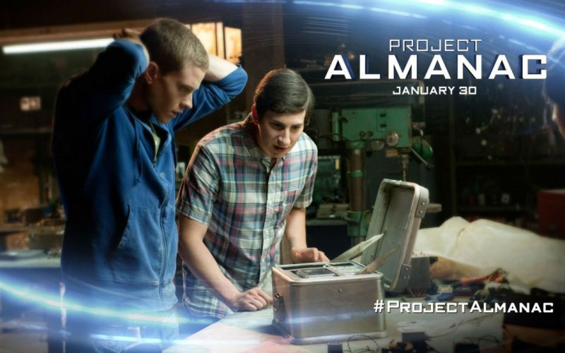 PROJECT ALMANAC sci-fi thriller adventure futuristic technics science 1almanac poster wallpaper