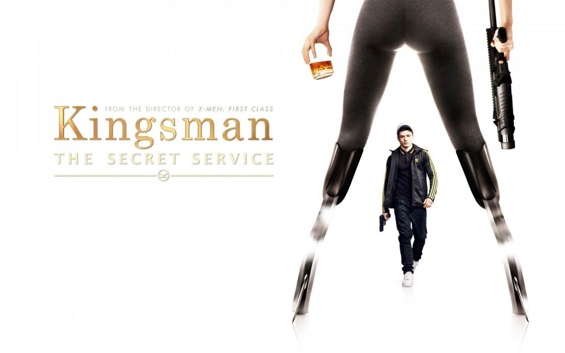 KINGSMAN-SECRET-SERVICE action adventure spy comedy crime kingsman secret service wallpaper