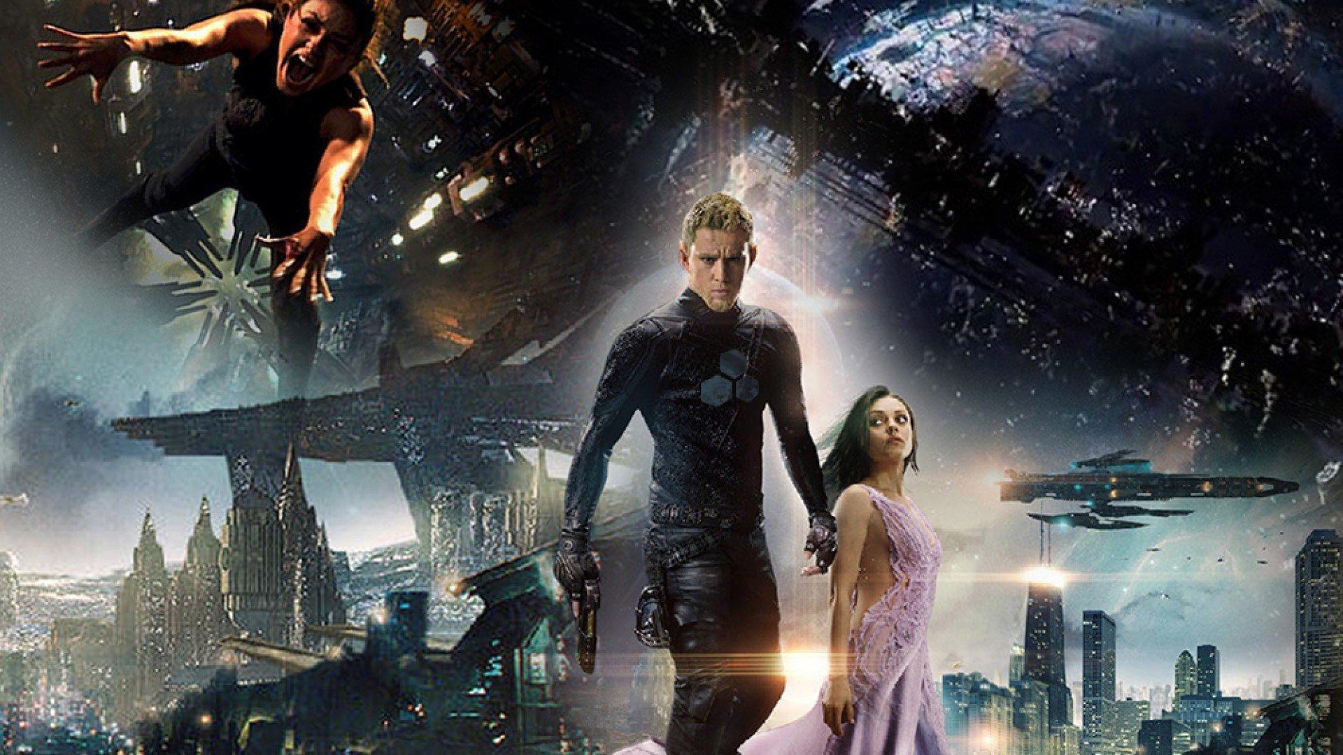 Jupiter Ascending Retina Movie Wallpaper: JUPITER ASCENDING Action Adventure Sci-fi Fantasy