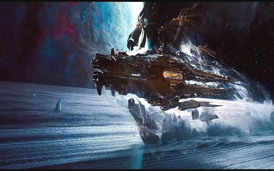 JUPITER ASCENDING action adventure sci-fi fantasy futuristic kunis spaceship wallpaper