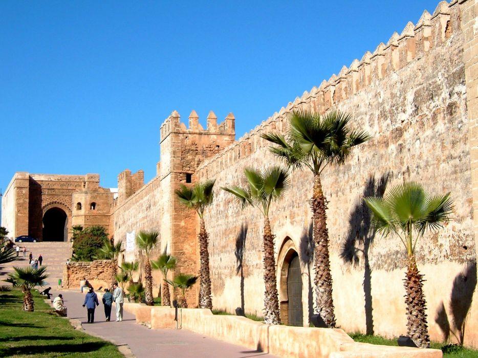 palacio narruecos arquitectura islamica wallpaper