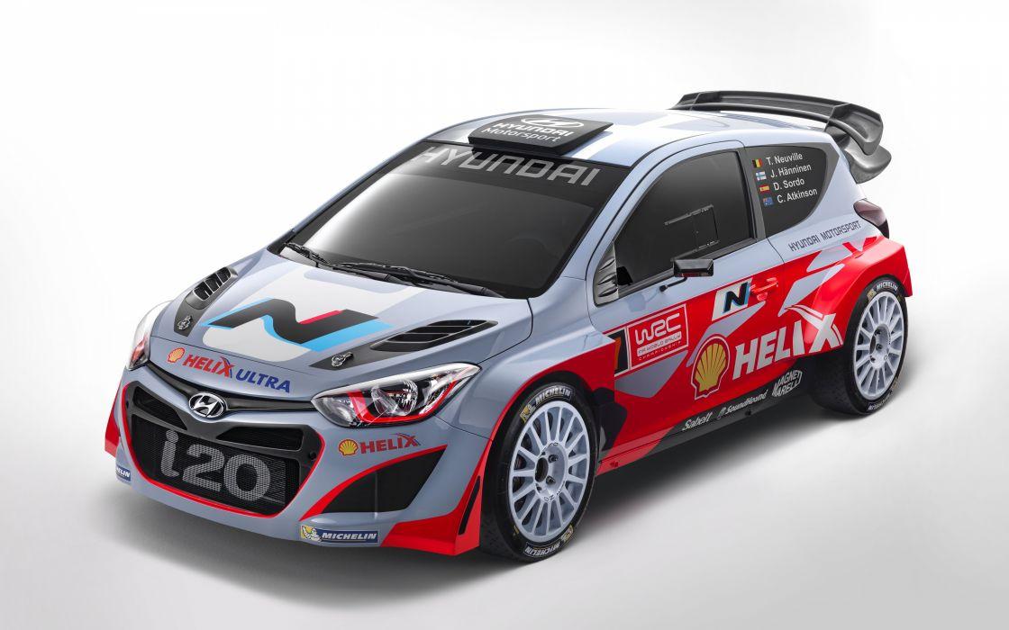racecar 2015-Hyundai-i20 wallpaper