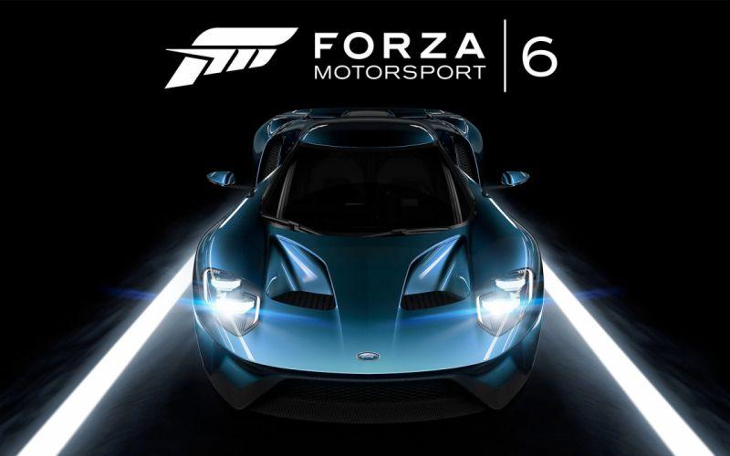 Forza-Motorsport-6-Ford-GT wallpaper