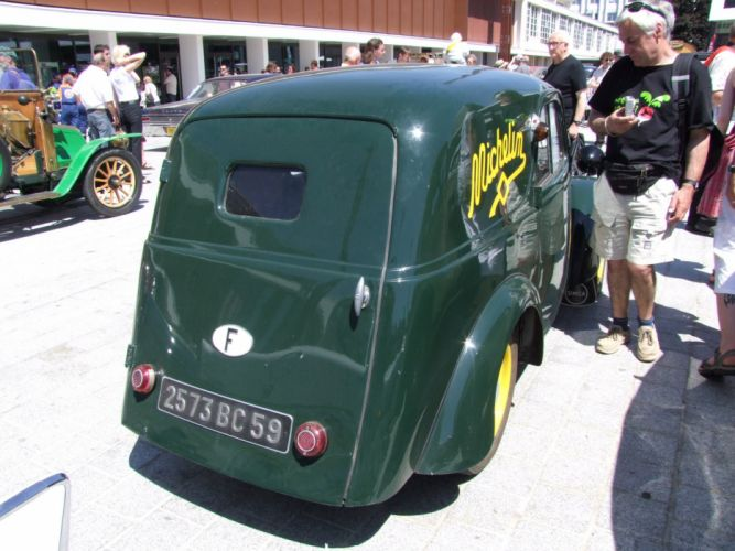 Simca-5 cars classic vintage french van delivery wallpaper