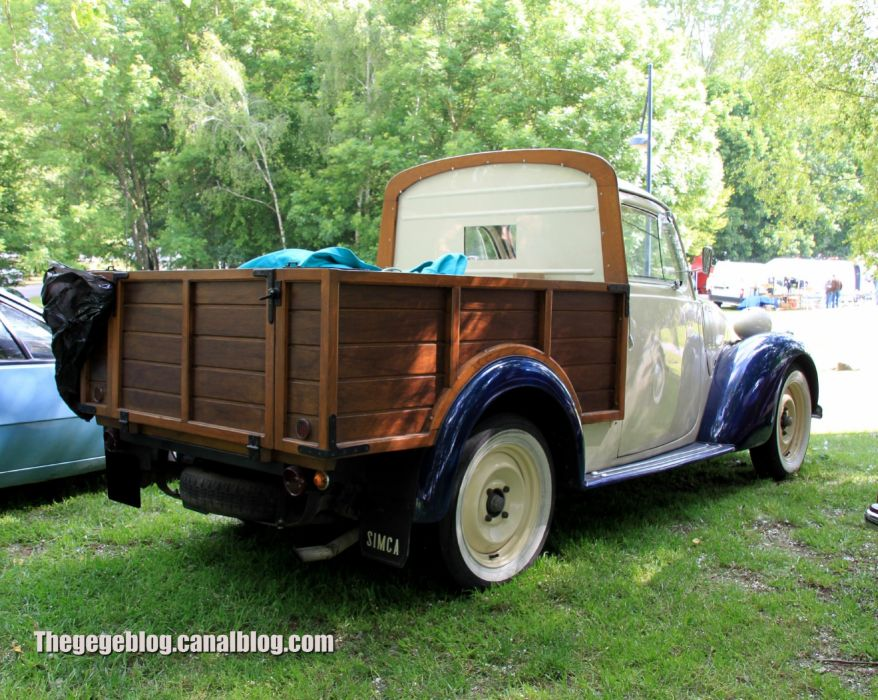 Simca-8 cars classic vintage french pickup wallpaper | 2048x1634 ...