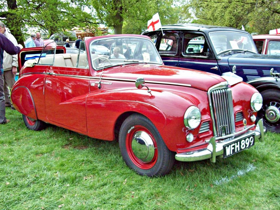 Talbot Sunbeam cars classic vintage french convertible cabriolet wallpaper