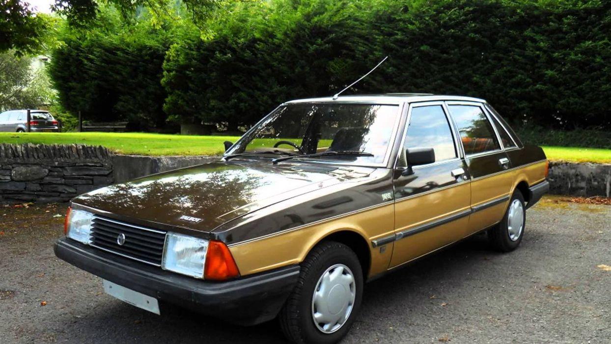 Talbot solara sedan french cars classic wallpaper