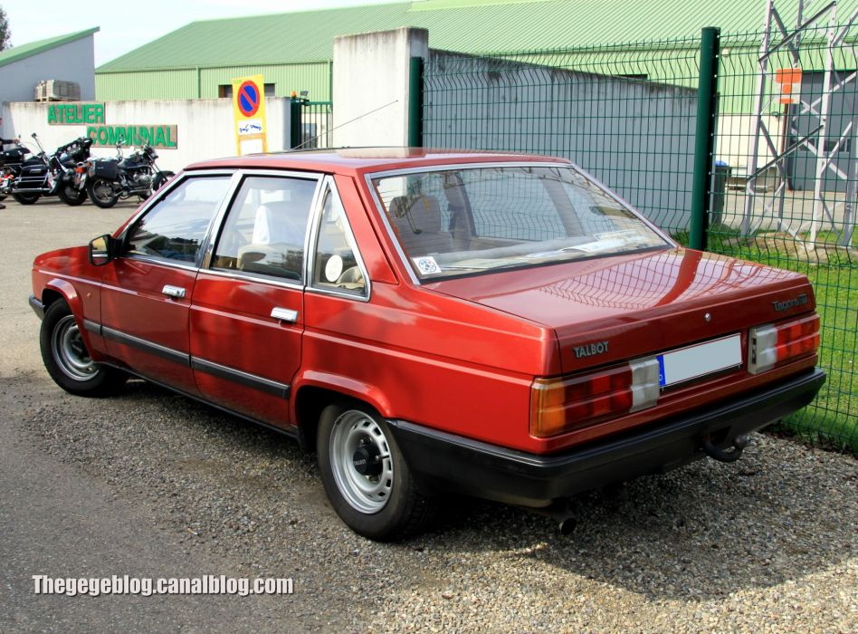 Talbot tagora sedan french cars classic wallpaper