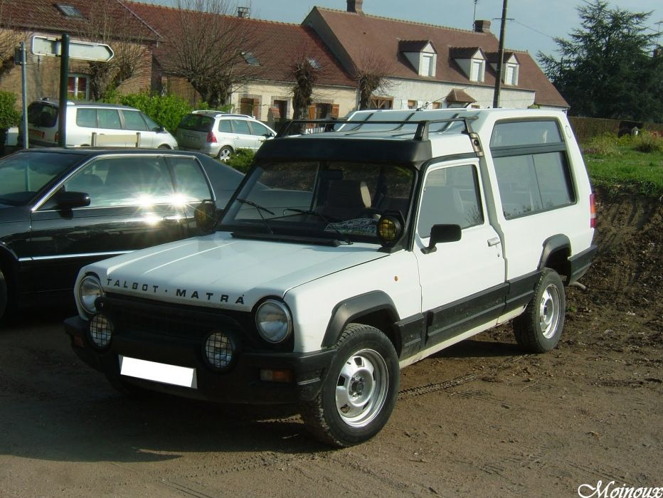 Talbot Matra Rancho suv french cars classic wallpaper