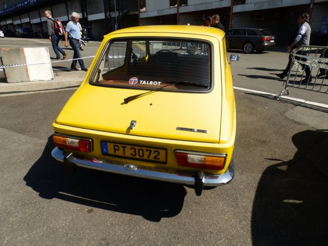 simca 1100 cars classic french wallpaper