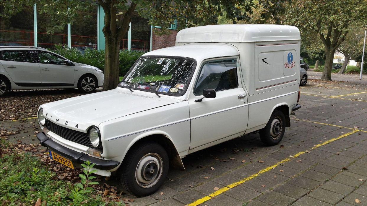 simca 1100 cars classic french van wallpaper