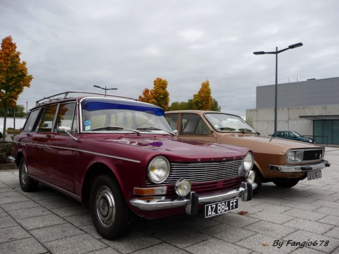 simca 1300 1301 cars classic french wagon wallpaper