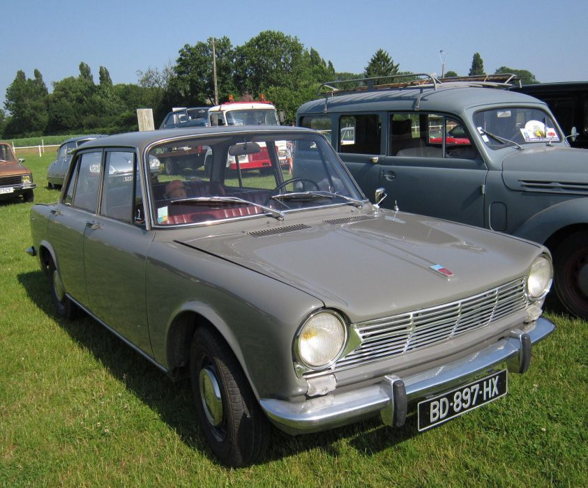 simca 1300 1301 cars classic french sedan wallpaper