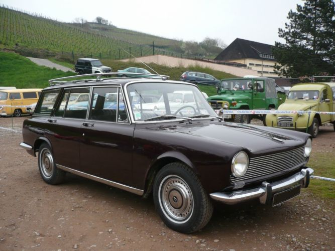 simca 1500 cars classic french wagon wallpaper