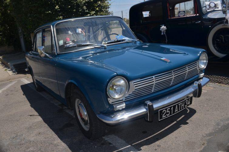 simca 1500 cars classic french sedan wallpaper
