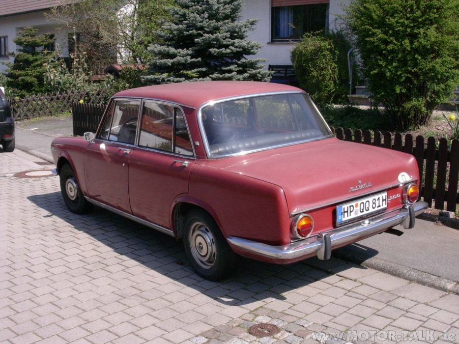 simca 1500 cars classic french sedan wallpaper