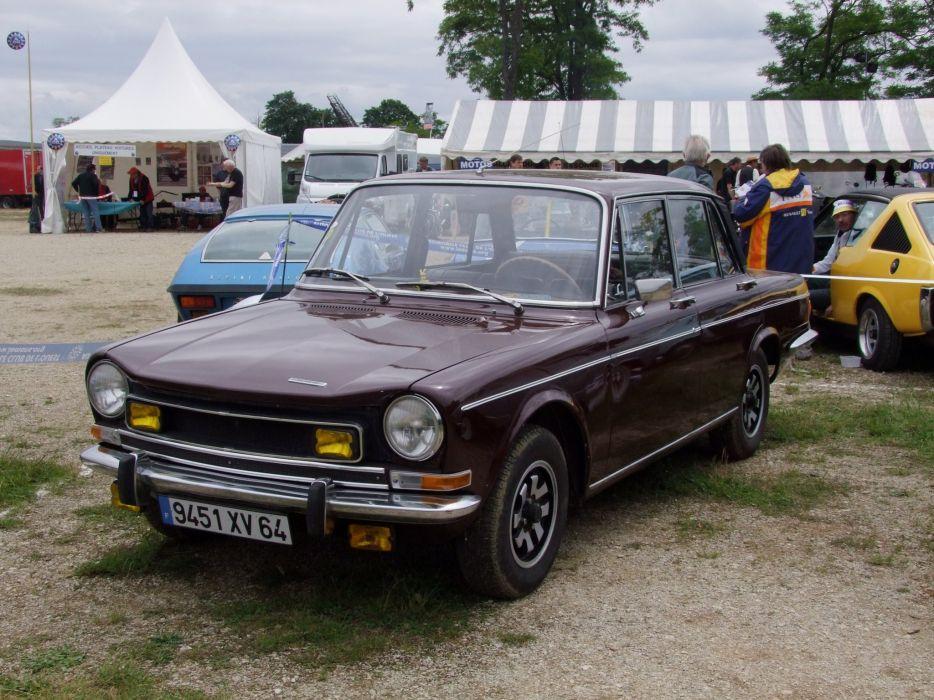 simca 1501 cars classic french sedan wallpaper