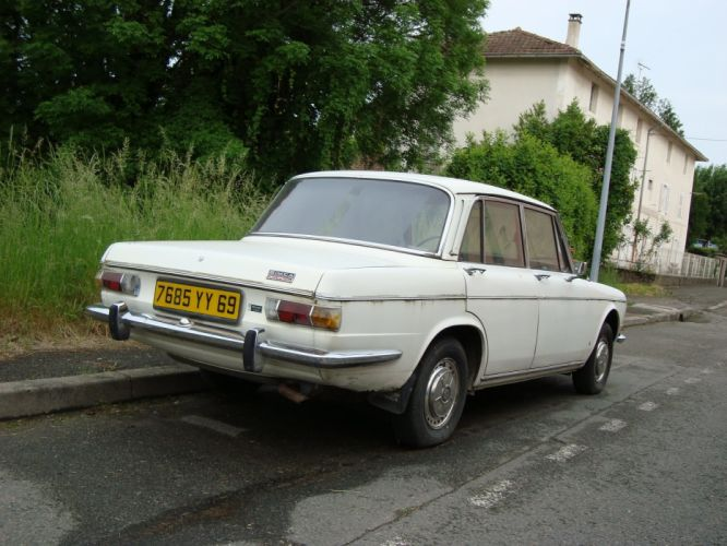simca 1501 cars classic french sedan wallpaper