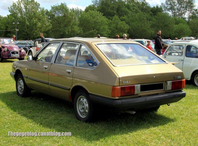 simca talbot 1510 cars classic french sedan wallpaper