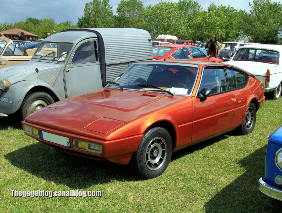 Matra Simca Bagheera classic french coupe wallpaper