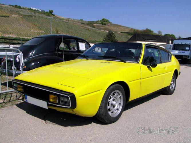 Matra Simca Bagheera classic french coupe wallpaper