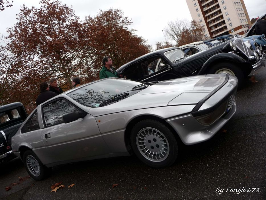Talbot Matra Murena classic french coupe wallpaper