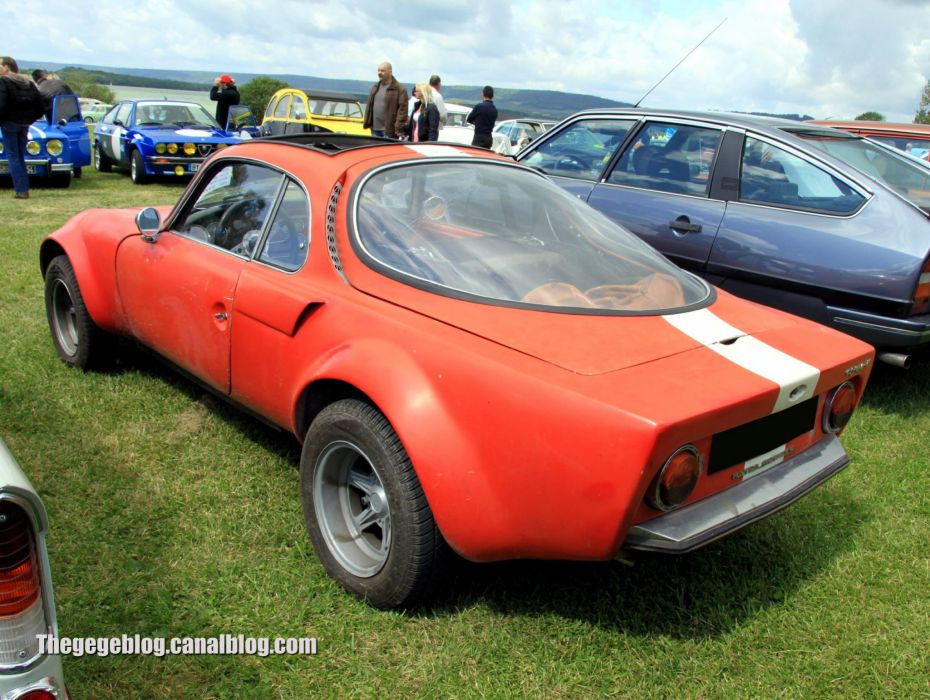 Matra djet classic french coupe wallpaper