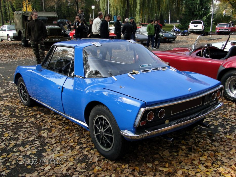 Matra 530 classic french coupe cars wallpaper
