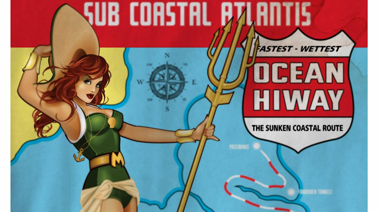 Aquaman Mera Bombshell Dc Comics wallpaper