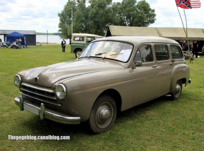 renault fregate cars classic french wagon wallpaper