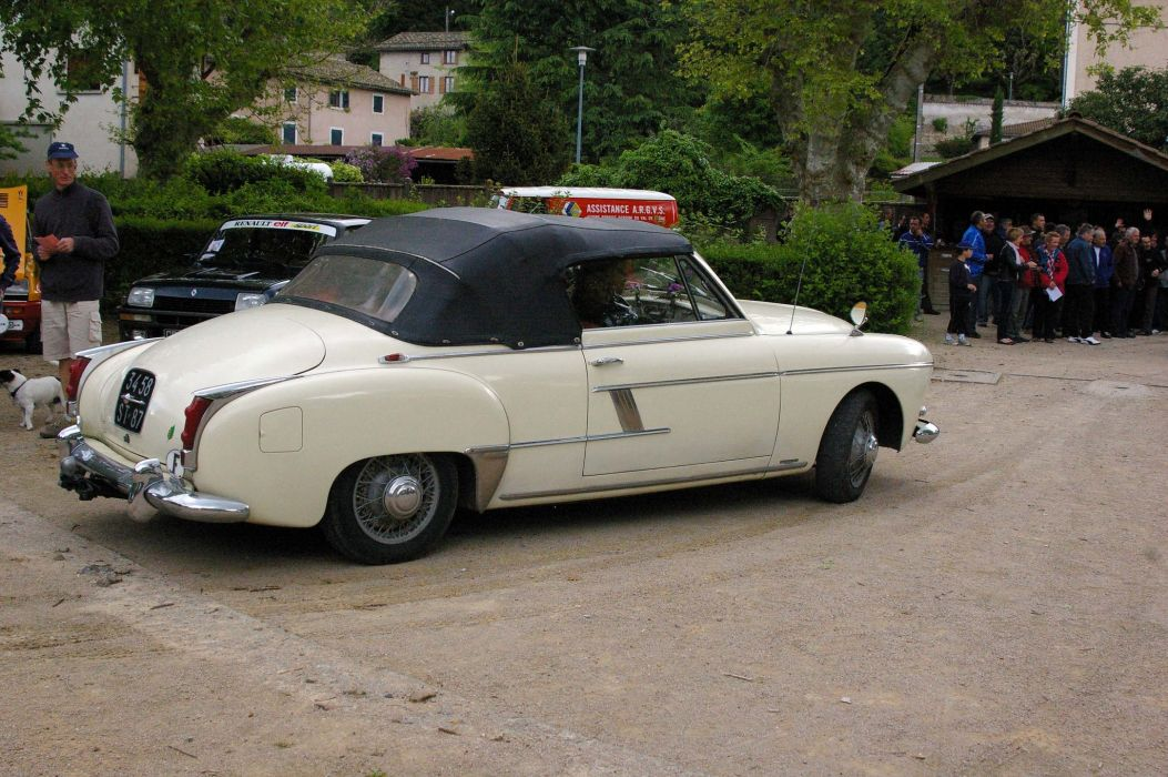 renault fregate cars classic french convertible cabriolet wallpaper