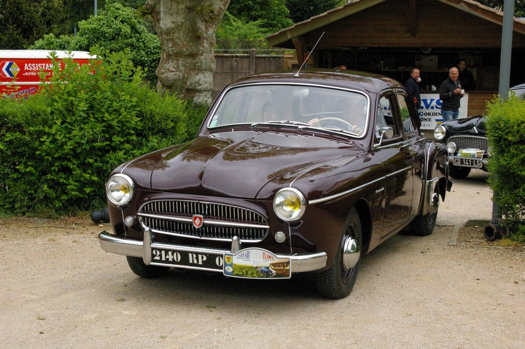 cars classic fregate french renault wallpaper