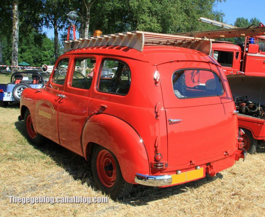 cars classic prairie colorale suv french renault fire pompier wallpaper