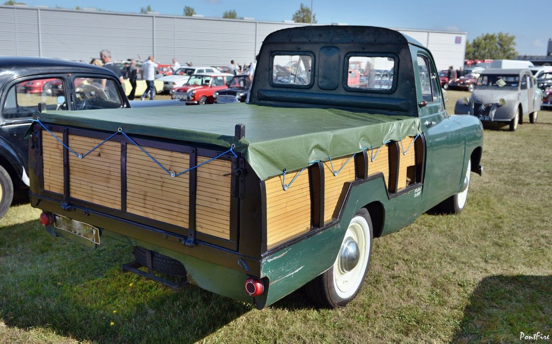 cars classic prairie colorale suv french renault pickup wallpaper