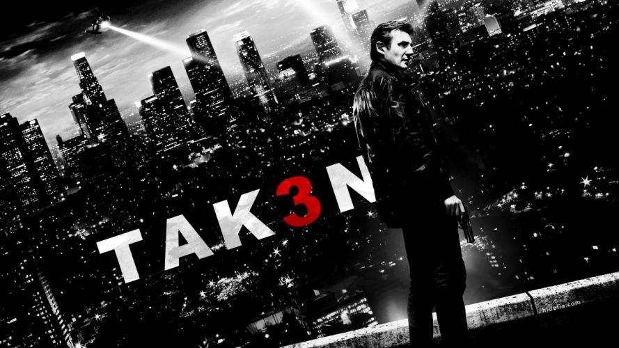 TAKEN action thriller spy crime liam neeson 1taken weapon gun pistol poster wallpaper