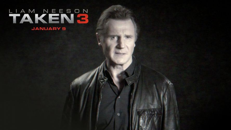 TAKEN action thriller spy crime liam neeson 1taken poster wallpaper