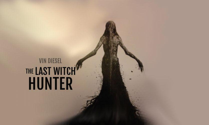 LAST WITCH HUNTER action adventure fantasy diesel fighting warrior 1witchhunter supernatural dark wallpaper