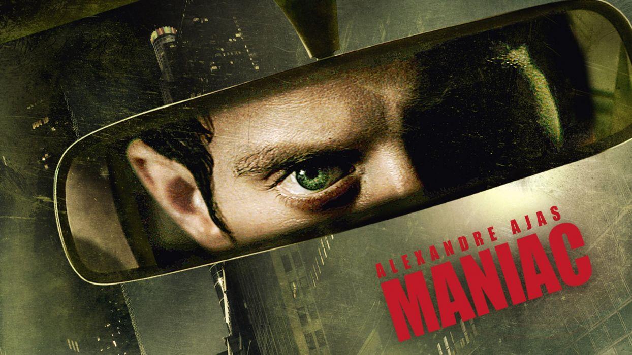MANIAC horror dark thriller psychological evil killer 1maniac poster wallpaper