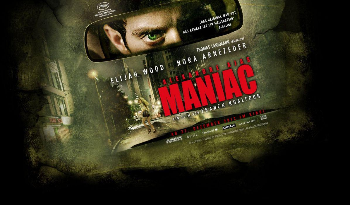 MANIAC horror dark thriller psychological evil killer 1maniac wallpaper